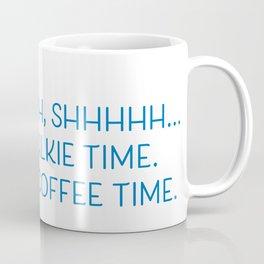 No Talkie Time Coffee Mug