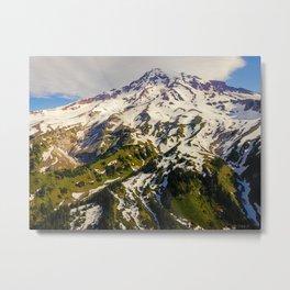 Mt. Tahoma Metal Print
