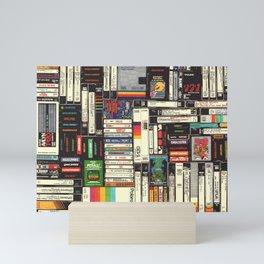 Cassettes, VHS & Games Mini Art Print