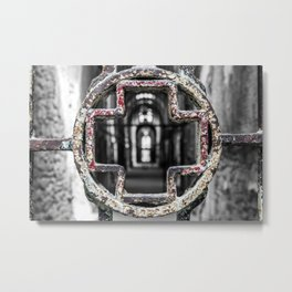 Medical Attention Metal Print