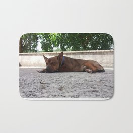 Dog Rudy Bath Mat