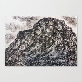 Grey Moutain by Gerlinde Streit Canvas Print