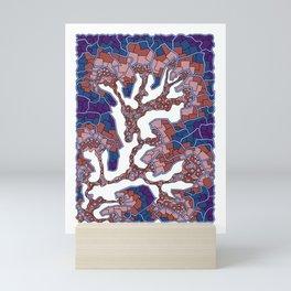 Wandering 40: color variation 3 Mini Art Print