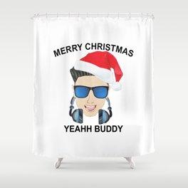 Dj Pauly D Logo Shower Curtain