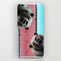 bears iPhone & iPod Skins featuring Bears by Mary Lo