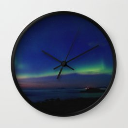 The Northern Lights 03 Wall Clock