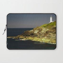 Trevose Head Lighthouse, Cornwall, United Kingdom Laptop Sleeve