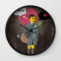 beast Wall Clocks featuring Beast by jnk2007