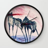 ford Wall Clocks featuring Ford by DogoD Art
