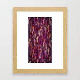 Rouge Willow Framed Art Print