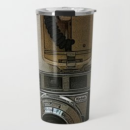 Kodak Vintage Camera Poster Print Travel Mug