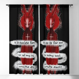 Seether Rabbit Blackout Curtain