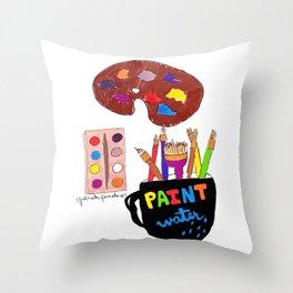 Artist Tools Throw Pillow