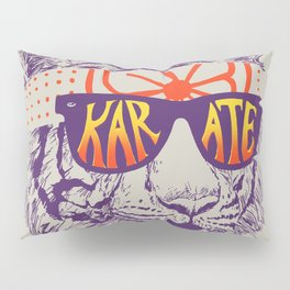 Karate Tiger Pillow Sham
