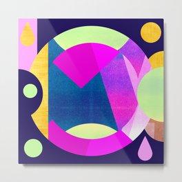Abstractions No. 5: Pyramid Metal Print