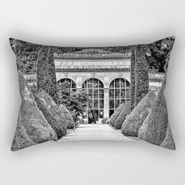 Path to the Orangery Rectangular Pillow