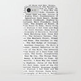 Banned Literature Internationally Print iPhone Case