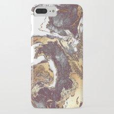 Black White Gold iPhone 7 Plus Slim Case