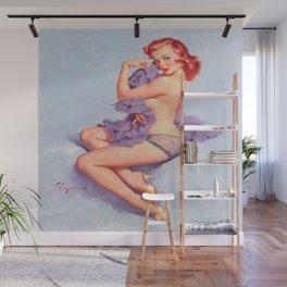 Pin Up Girl Roxanne by Gil Elvgren Wall Mural