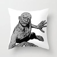 stone Throw Pillows featuring Stone by Matthew Dunn
