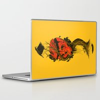 hero Laptop & iPad Skins featuring Nameless Hero by nicebleed