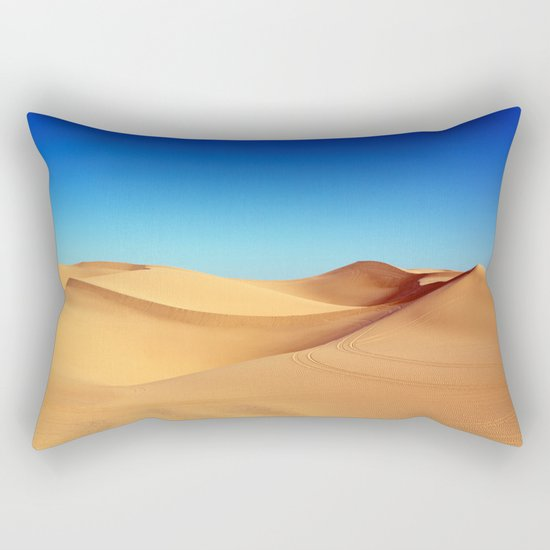 Desert blue Rectangular Pillow