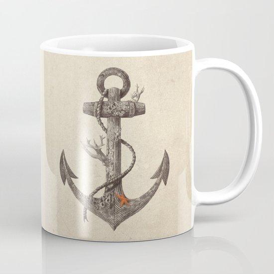 Lost at Sea - mono Mug