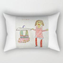 Ballet Time for Dona Rectangular Pillow