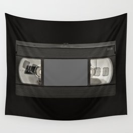 Retro 80's objects - Videotape Wall Tapestry