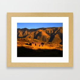 Fin del Dia Framed Art Print