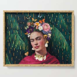 Frida Kahlo :: World Women's Day Serving Tray