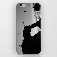 runner iPhone & iPod Skins featuring Arch Runner by Kevin Russ