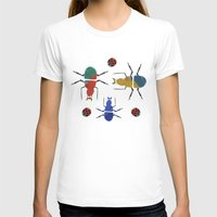 insects T-shirts featuring playful insects by Lydia Coventry