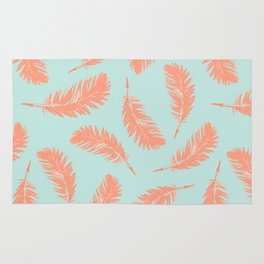 Summer feathers Rug