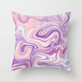 Liquid art II Throw Pillow