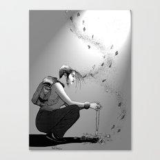 B&W No.9 Canvas Print