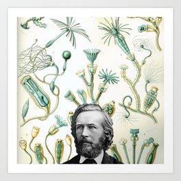 Ode to Haeckel Art Print