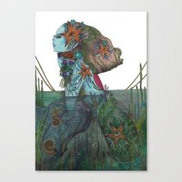 A Sirens dream Canvas Print