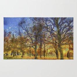 Greenwich Park London Art Rug