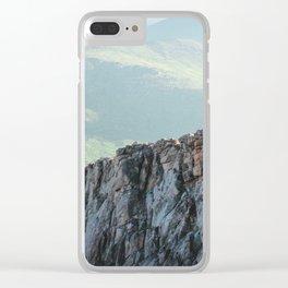 Mountain Ridge Clear iPhone Case