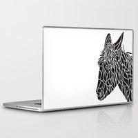 donkey Laptop & iPad Skins featuring Donkey by Gemma Bullen Design