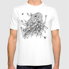 Cycle 3 Mens Fitted Tee White SMALL