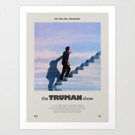 The Truman Show (1998) Minimalist Poster Art Print
