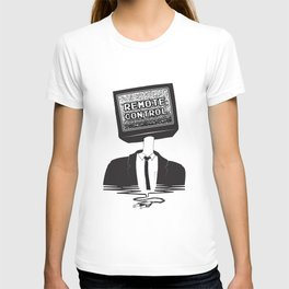 Remote Control: Kill Your TV - Fake News T-shirt