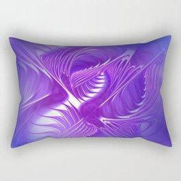 flames on texture -701- Rectangular Pillow
