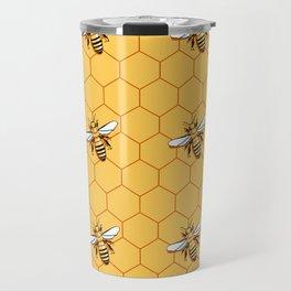 Bee-utiful Travel Mug