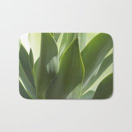 green leaves Bath Mat