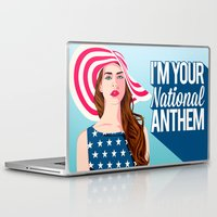 the national Laptop & iPad Skins featuring National Anthem by Stan Pro