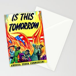 """""""Is This Tomorrow""""' Stationery Cards"""