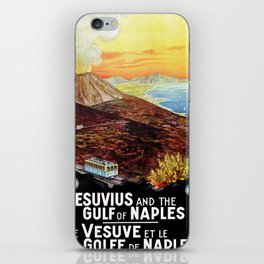 Vesuvius and the Gulf of Naples iPhone Skin